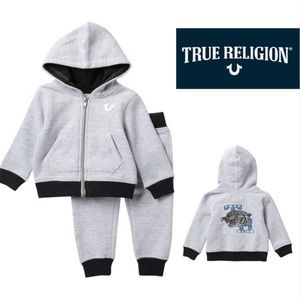 True Religion  2-piece set Heather Grey TA19/20